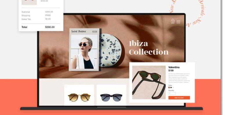boutique en ligne avec wix